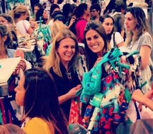 Fashionistas enlouquecidas invadem venda especial de Adriana Barra