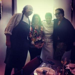 Roberta Sudbrack recebe o chef Francis Mallmann para almoço cool