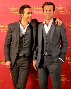 Ryan Reynolds ganha estátua de cera no museu Madame Tussauds