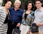 Glamurettes deixaram festa da J.P com acessórios chiques da Piaget