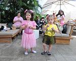Puket presenteou glamuzinhos com pijamas-fantasias no nosso piquenique