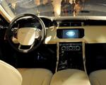Sábado agitado pelo lançamento do Range Rover Sport
