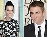 Robert Pattinson e Katy Perry: umas a mais no karaokê. Play!