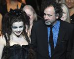Helena Bonham Carter e Tim Burton juntinhos após suposta traição