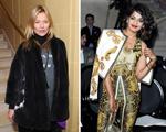 Kate Moss para a Topshop e M.I.A. para a Versus. Temporada boa!
