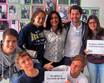 A solidariedade de Felipe Ventura com o projeto Corrente do Bem