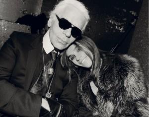Carine Roitfeld vem ao Brasil para lançar exposição com Karl Lagerfeld