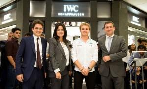IWC Schaffhausen arma cocktail no JK Iguatemi. As imagens aqui
