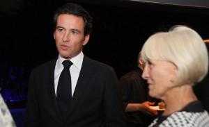 Damien e Alexandra Loras receberam em torno da diretoria do Oetker Collection