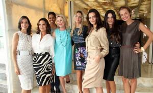 Luiza Brunet e Melissa Fernandes falam ao Glamurama na festa da MaxMara