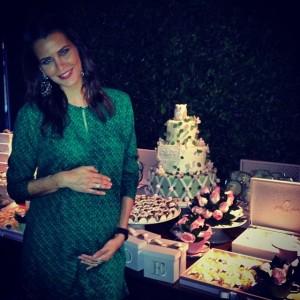 Fernanda Motta arma chá de bebê para sua Chloe, espia só!
