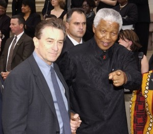 Mandela assistiu a todos os filmes de Robert De Niro na prisão