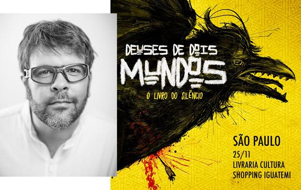 """""""O livro do silêncio"""", do publicitário PJ Pereira, é o primeiro da trilogia """"Deuses de dois mundos"""""""