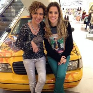 Ingrid Guimarães leva Astrid Fontenelle às compras em NY