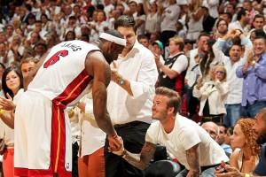 Melhor jogador de basquete da atualidade quer se unir a Beckham