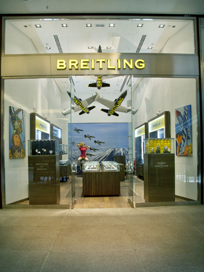 8a1b00673e9 Breitling abre sua primeira loja no Brasil. Em São Paulo! Aos ...