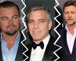 Irônico, George Clooney dispara contra DiCaprio e Russell Crowe