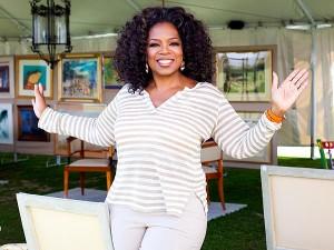Oprah Winfrey está se desfazendo de alguns de seus bens materiais. Vem!