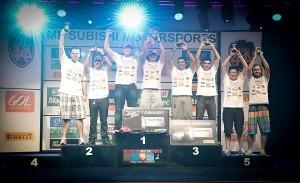 Conheça os vencedores do rally Mitsubishi Motorsports 2013