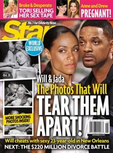 Revelações… Will Smith teria caso com atriz 23 anos mais nova que ele