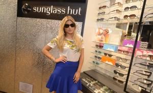 Vogue Eyewear lança linha na Sunglass Hut do Rio. Aos cliques