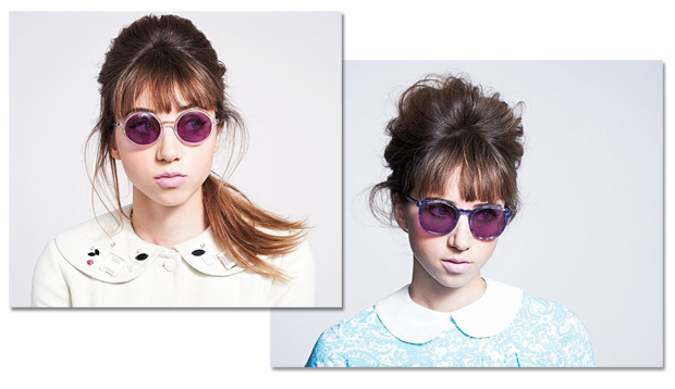 """A stylist """"Leith Clark"""", conhecida por ter fundado a Lula Magazine, acaba  de lançar sua primeira coleção de óculos em parceria com a Warby Parker. d17590c97c"""