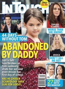 Tom Cruise recebe milhões de dólares de revista de celebridades