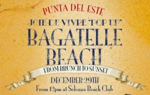 Bagatelle Beach anima Punta del Este de manhã até o anoitecer