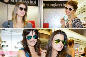 Glamuretes conferem lançamentos da Vogue Eyewear na Sunglass Hut