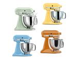 Dê um up na sua cozinha com batedeiras coloridas e moderninhas