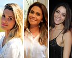 O fim de ano de Flavia Alessandra, Giovanna Antonelli e Carol Castro, aqui!