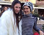 Tatiana Santo Domingo e Margherita Missoni mudaram de hemisfério neste Réveillon