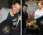 Trio de top chefs se encontra na Feirinha Gastronômica em São Paulo