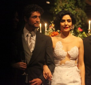 Letícia Sabatella se casou com festa para 300 convidados em SP