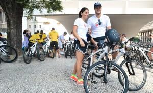 JK Iguatemi arma passeio ciclístico pelo aniversário de SP