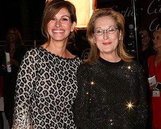 Julia Roberts e Meryl Streep