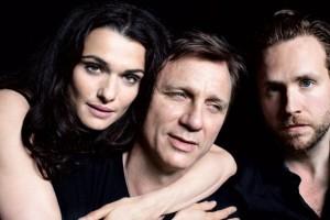 Com triângulo amoroso, Rachel Weisz e Daniel Craig bombam na Broadway