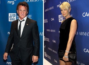 Sean Penn e Charlize Theron dão mais indícios de affair