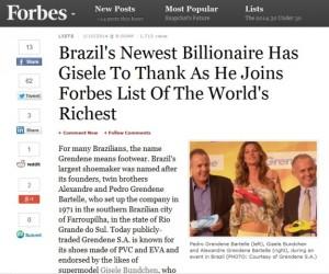 """Mais um brasileiro entra para a lista de bilionários da """"Forbes"""". Quem?"""