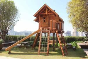Casa da Árvore do Cidade Jardim é ótima opção para os pequenos