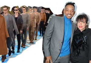 Will Smith, Lily Allen e a turma da fila A da temporada de moda masculina