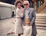 Karl Lagerfeld é demitido da Chanel por modelo mirim. Play pra entender