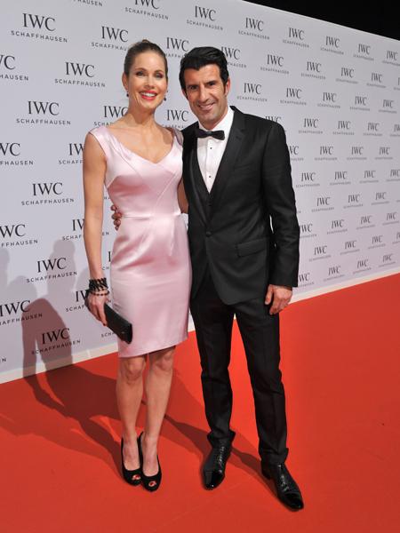 Helen Svedin e Luis Figo