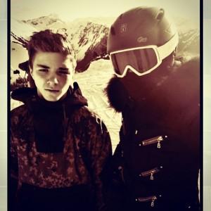 Madonna curte férias nos Alpes Suíços e dá bronca em internautas