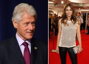 Bill Clinton e Liz Hurley viveram um romance na Casa Branca. Será?
