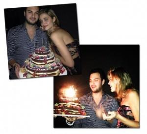 Karim el Chiaty, namorado de Ana Beatriz Barros, apaga velinhas em SP