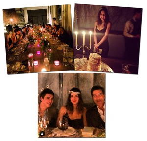 Margherita Missoni ganhou jantar surpresa de aniversário em Milão