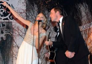Taylor Swift fala sobre a emoção de cantar com o Príncipe Willian