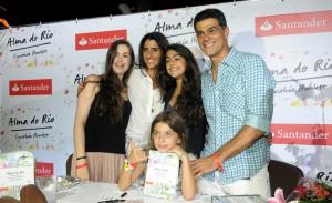 """Cynthia Howlett lança o livro """"Alma do Rio"""" no Jockey carioca"""
