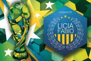 Camarote de Licia Fabio em Salvador será inspirado na Copa. Vamos?